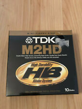 Tdk M2hd Mini Floppy Disk Double Sided High Density Box Of 10 Sealed