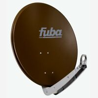 FUBA DAA 650 B SAT Alu Antenne Spiegel 65cm Satelliten Schüssel Braun HD UHD 4K