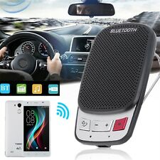 Portable Multipoint Wireless Bluetooth Handsfree Car Sun Visor Speaker Phone HP
