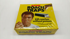 Vintage Advertising Muhammad Ali D-Con Roach Traps Unopened