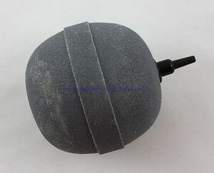 Air Pump Ball XXL 80mm Grey For Garden Pond Ausströmstein Pond