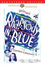 Rhapsody in Blue 1945 (DVD) Robert Alda, Joan Leslie, Alexis Smith New!