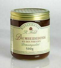 Baumheide Honig Heide Honig 100% naturreiner Bienenhonig 500g kaltgeschleudert !