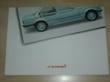 61504) BMW 3er Reihe E30 Kamei X1 Prospekt 199?