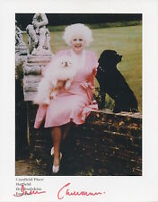 DAME BARBARA CARTLAND Signed 8X6 Photo ROMANTIC NOVELIST COA