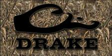 4 Banner Waterfowl Hunting Camo Vinyl Signs Banded Drake Avery Mossy Oak (4'x2')