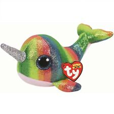 Ty Beanie Babies 36216 Boos Nori the Narwhal Boo