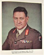 "Australian Signal Corps in Ww Ii - 1944 1st ed book ""Signals"""