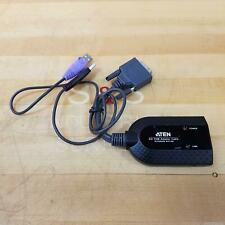 Aten KA7166 DVI USB Virtual Media KVM Adapter Cable w/ Smart Card Reader - NEW
