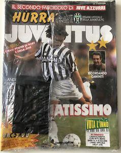 Hurra Juventus - Oct 1993 - Sealed Magazine & Cassette Tape