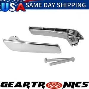 New Inner Door Handle Front Or Rear Left & Right Side Pair Fit 2007-13 Chevy GMC