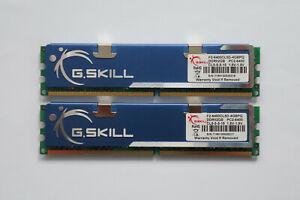 4GB (2x2GB) G.SKILL DDR2 Memory 800MHz CL5 PC2-6400 F2-6400CL5D-4GBPQ