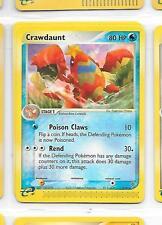 CRAWDAUNT - 13/97 – Pokemon – Ex Dragon - NM - Buy more and save!