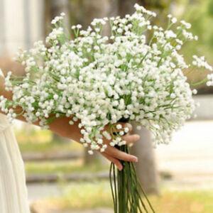 50X Artificial Fake Baby's Breath Gypsophila Silks Flowers Bouquet Decor]*