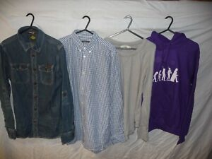 Men's Clothing Bundle SUPERDRY, FRENCH CONNECTION, A & F, Size S (w25)