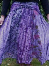 Gonne e minigonne da donna floreale hippy