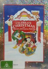 Celebrate Christmas DVD Mickey Mouse Donald Duck KIDS MOVIE