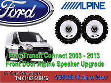 Ford Transit Connect 2003 - 2013 Alpine Front Door Coaxial Speaker Upgrade