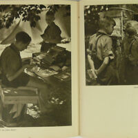 Jungvolk German Youth Photo Book 1930s Boys in the Camp w/50+ photos DJ Jungen