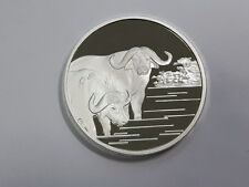 Korea 2007, Buffalo  1500 Won, 40mm, 1oz Silver Proof