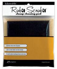 """Inkssentials Rub-It Scrub-It Rubber Stamp Cleaning Pad-6""""X6"""""""