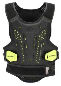 Acerbis Motocross Enduro Body Armour DNA Level 2 Small/Medium Black/Yellow New