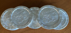 Silvertowne Logo Poker Chip Stacker 1 Troy oz .999 Fine Silver Round in Capsule