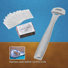 DIY Leathercraft Skiving Tools Edge Skiver With Blades For Thinning Leather HL