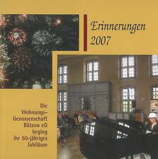 WohnungsGenossenschaft Bützow eG Erinnerungen 2007