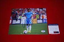 DAVID VILLA fc barcelona spain world cup signed PSA/DNA 8X10 new york city fc 2