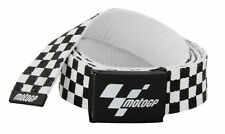Official MotoGP Checkered Motorcycle Universal Fit Web Belt