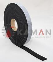 1 x Zellkautschuk Band Selbstklebend Moosgummi EPDM - 10m Rolle - 15mm x 2mm