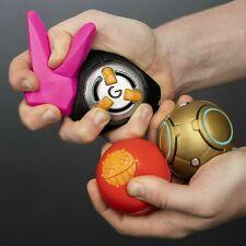 Overwatch Stress Balls Set Of 4 : Junkrat, Bunny, Zenyatta & Tracer Bomb