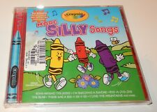 Crayola More Silly Songs Preformed by Countdown Kids (CD, 2004)  NEW