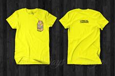 Lyrical Lemonade Official Logo Merch T-Shirt Men's Music Clothing Rap Hip Hop