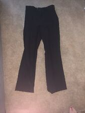 Ladies Black Showmanship Horse Show Pants