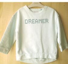 Next Girls Light Green Sweatshirt Jumper Age 3 Years BNWT Tag £13