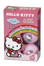 Hello Kitty The Collection Golf Balls 6 pack PINK ANNIVERSARY Sanrio LOGO New