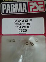 "Parma 620 NEW Axle Spacers For 3/32 Axle - Width 1/64"" - Qty. 6"