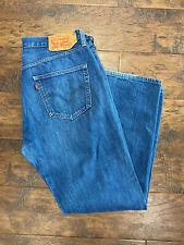 Mens Jeans de Levi 501 W36 L30