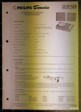 PHILIPS Service Dokumentation 22 GF 628, 08/1969, original + komplett