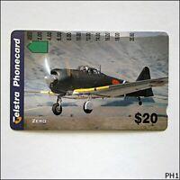 Telstra Zero Plane $20 Phonecard (PH1)