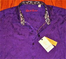 6b07ce0e07a Robert Graham Mens Authentic Dress Shirt Top Size M ( Medium )