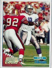 TROY AIKMAN - 1998 Stadium Club Chrome REFRACTOR = Dallas Cowboys SCC17 Ref