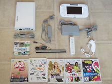 Nintendo Wii U Konsole komplett mit Wii Sports und 2 Gratis Wii Spiele + Remote
