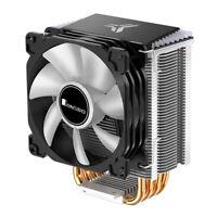 CR1400 PWM 4Pin 12V PC LED Fan Cooling RGB 4 Heat-pipes CPU Cooler Radiator B3