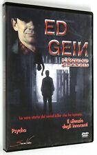 DVD ED GEIN IL MACELLAIO DI PLAINFIEL 2000 Biografico Steve Railsback