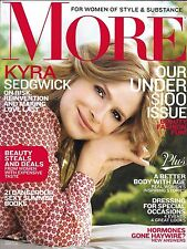 More magazine Kyra Sedgwick Under $100 issue Beauty deals Inspiring stories