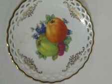Winterling Bavaria Germany Fruit Plate, Reticulated Rim