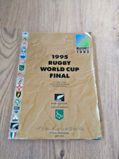 More details for new zealand v south africa 1995 rugby world cup final programme